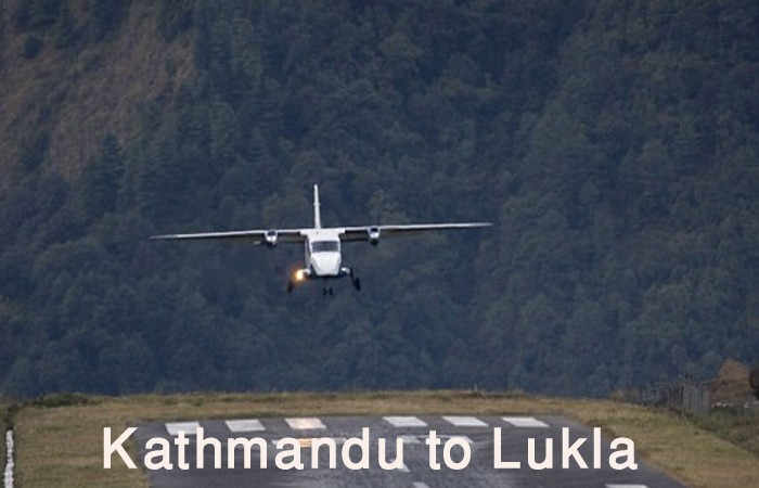 Fly from Kathmandu to Lukla Airport