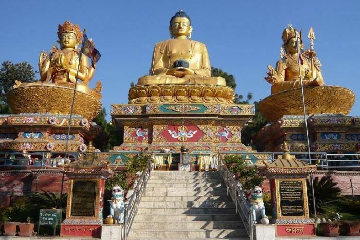 Swayambhunath temple, a monkey temple