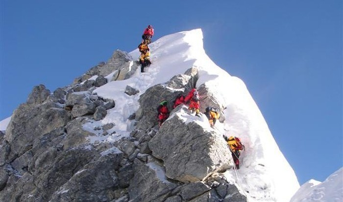 Hillary Step : Everest Expedition from South