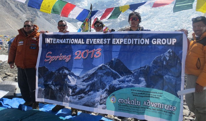 International Everest Expedition Group 2013