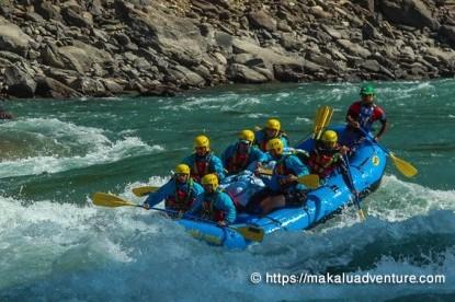 Kathmandu Chitwan Rafting