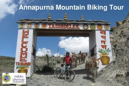 Annapurna Circuit with Upper Mustang Mountain Biking