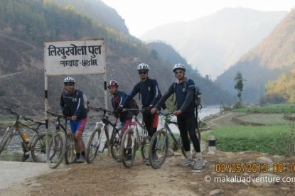 Road to Everest Mountain Biking