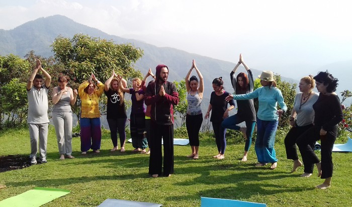 Yoga Trek to Dhampus