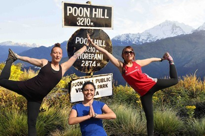 Yoga Trek to Poon HIll
