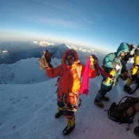 Successful accent to Summit of Mt. Everest from Nepal side organized by Makalu Adventures.