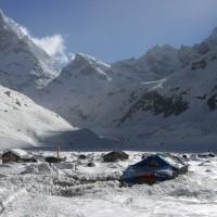 Snow Field of Makalu Base Camp