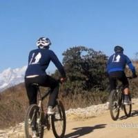 Road to Everest Mountain Biking